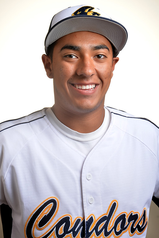 Description of . Ruben Pinedo from California High School was selected to the Whittier Daily News All-Area Baseball team on Tuesday June 10, 2014. (Photo by Keith Durflinger/Whittier Daily News)