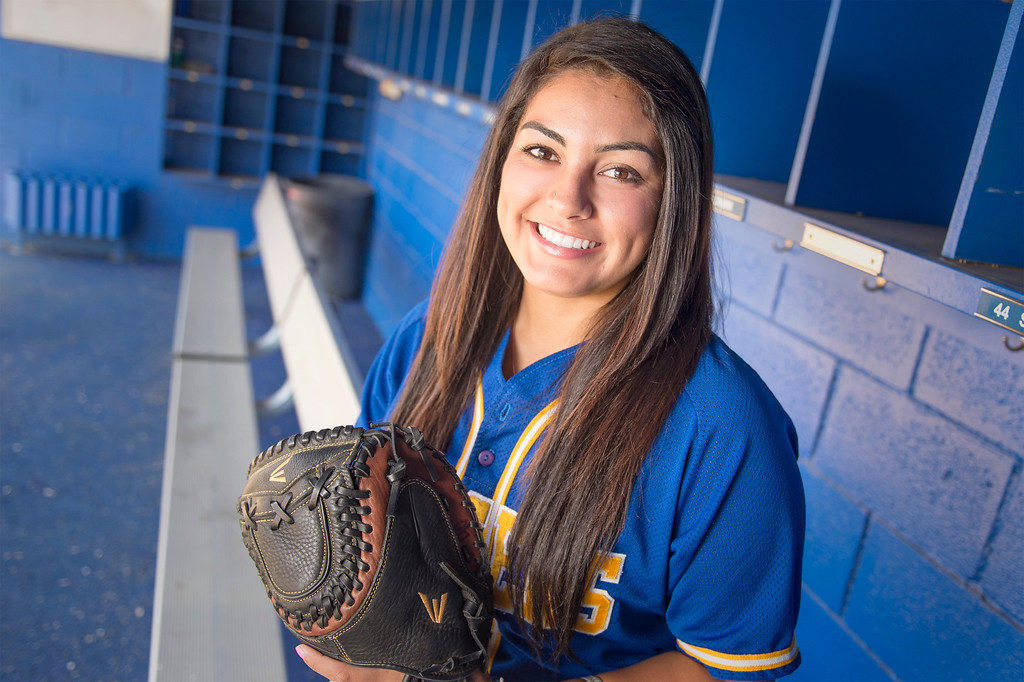 Description of . Bishop Amat High's Lexi Gonzalez has been selected as the SGV Tribune's All-area Softball Player of the Year June 10, 2013.   (SGVN staff photo by Leo Jarzomb)