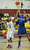 02-23-2012--(LANG Staff Photo by Sean Hiller)- Narbonne beat El Camino Real 47-39 in Saturday's L.A. City Section Division I semifinal girls basketball game. Narbonne's Latecia Smith (3) battles El Camino's 	Sukari Richardson (4).