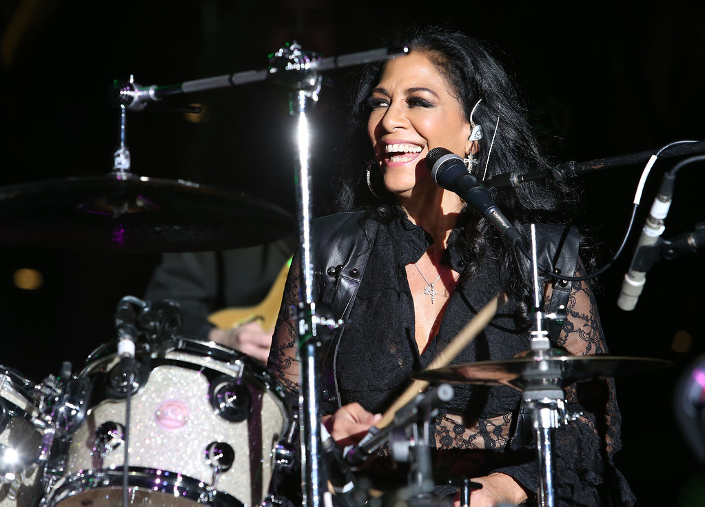 Description of . ANAHEIM, CA - JANUARY 24:  Musician Sheila E. attends the 2014 National Association of Music Merchants show at the Anaheim Convention Center on January 24, 2014 in Anaheim, California.  (Photo by Jesse Grant/Getty Images for NAMM)