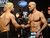 UFC fighters Josh Koscheck and Robbie Lawler during weigh-ins for UFC 157 Rousey vs Carmouche at the Honda Center in Anaheim Friday, February  22, 2013.  (Hans Gutknecht/Staff Photographer)