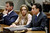 Actress Lindsay Lohan, center, and attorneys Mark Heller, right, and Anthony Falangetti, appear at a hearing in Los Angeles Superior Court, Monday, March 18, 2013. Lohan accepted a plea deal on Monday in a misdemeanor car crash case that includes 90 days in a rehabilitation facility. The actress, who has struggled for years with legal problems, pleaded no contest to reckless driving, lying to police and obstructing officers who were investigating the accident involving the actress in June. (AP Photo/Reed Saxon, Pool)