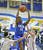 LONG BEACH, CALIF. USA -- Gahr's David Murrell (32) comes down with a rebound against Millikan's Thomas Pua (1) and Jacob Lundi-Mallett (21) during their CIF-SS Divison 1-A playoff game in Long Beach on February 15, 2013. Millikan defeated Gahr, 74 to 64. Photo by Jeff Gritchen / Los Angeles Newspaper Group