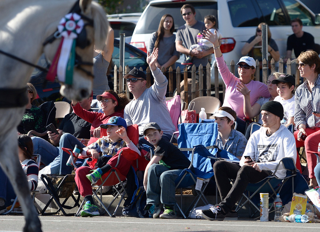 Description of . during the 2014 Rose Parade in Pasadena, CA January 1, 2014.(John McCoy/Los Angeles Daily News)