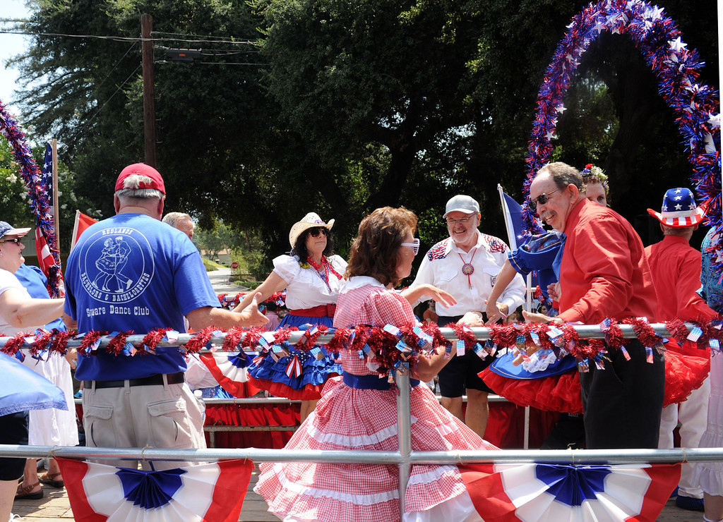 Description of . (John Valenzuela/ Staff Photographer)  The 2013 Redlands Fourth of July Parade and Picnic at Sylvan Park in Redlands, July 4, 2013.
