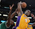 Lakers Antawn Jamison and Celtics' Jeff Green go for a rebound during second half action at Staples Wednesday. Lakers defeated the Celtics 113-99.  Photo by David Crane/Staff Photographer