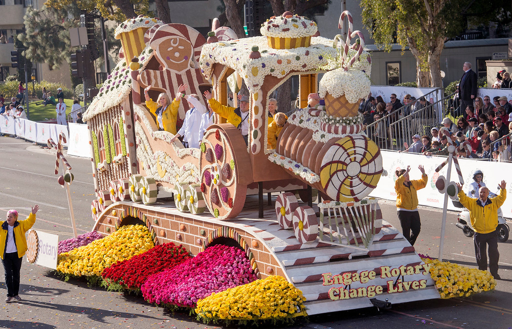 Description of . Rotary Rose Parade Float Committee Inc.