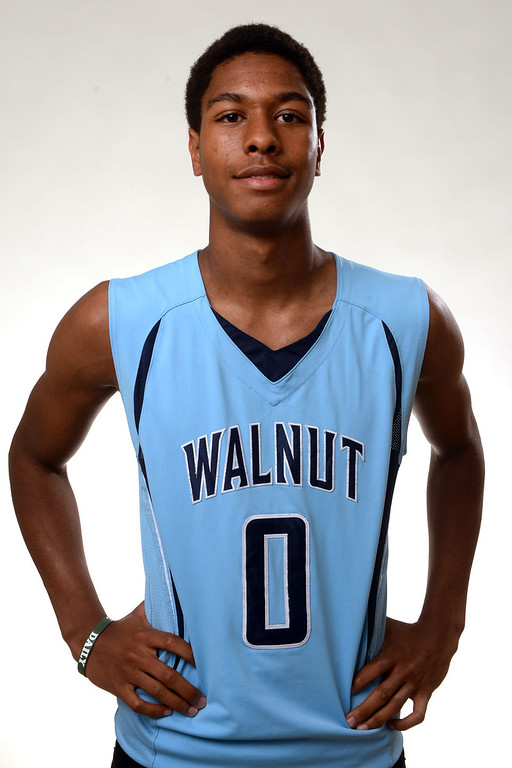 Description of . Walnut's Zuri Williams, All-Area basketball Players at the San Gabriel Valley Tribune in West Covina, Calif., on Tuesday, April 8, 2014.  (Keith Birmingham Pasadena Star-News)