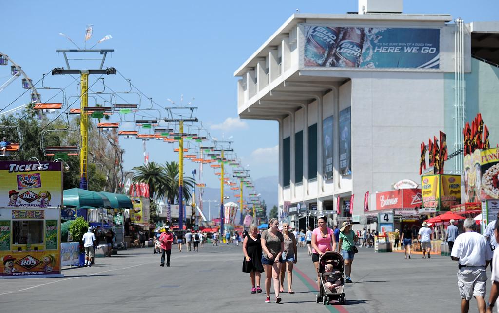Description of . The 91st Annual L.A. County Fair in Pomona, Calif. on Thursday, Sept. 5, 2013.   (Photo by Keith Birmingham/Pasadena Star-News)