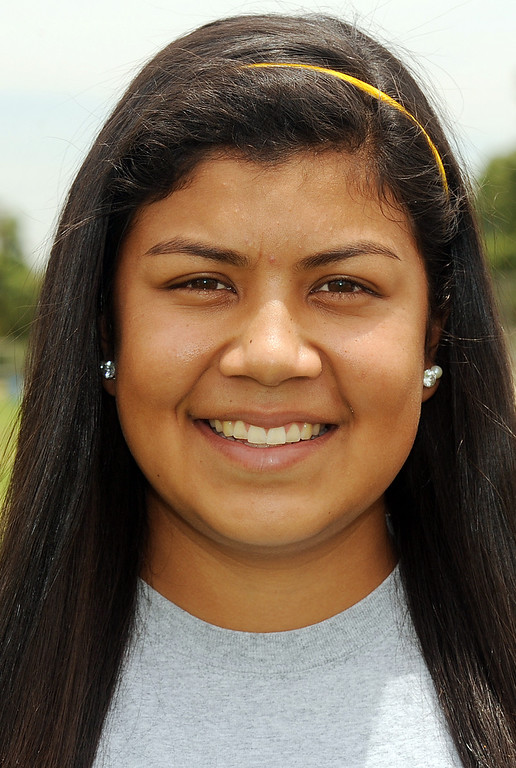 Description of . Salina Galindo has been named to The Sun's All-Area softball team. Galindo plays softball for The Sun. Will Lester staff photo The Sun.