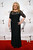 Actress Jacki Weaver wears a black three-quarter-sleeve lace gown with shirred waist and mermaid silhouette by David Meister and Open Hearts by Jane Seymour collection jewelry including diamond and amethyst drop earrings and a black and white diamond ring at the Writers Guild Awards at JW Marriott Los Angeles at L.A. LIVE on Feb. 17, 2013.   