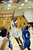 02-23-2012--(LANG Staff Photo by Sean Hiller)- Narbonne beat El Camino Real 47-39 in Saturday's L.A. City Section Division I semifinal girls basketball game. Narbonne's Lauryn Catching (10) gets the basket over El Camino's 	Sasha Samuels (32) ,left, and 	Sukari Richardson (4).