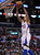 The Clippers' Matt Barnes #22 dunks the ball during their game against the Spurs at the Staples Center in Los Angeles Friday, February  21, 2013. The Spurs beat the Clippers 116-90. (Hans Gutknecht/Staff Photographer)