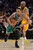 Lakers Kobe Bryant defends against Celtics' Courtney Lee during their game at Staples Wednesday.  Photo by David Crane/Staff Photographer