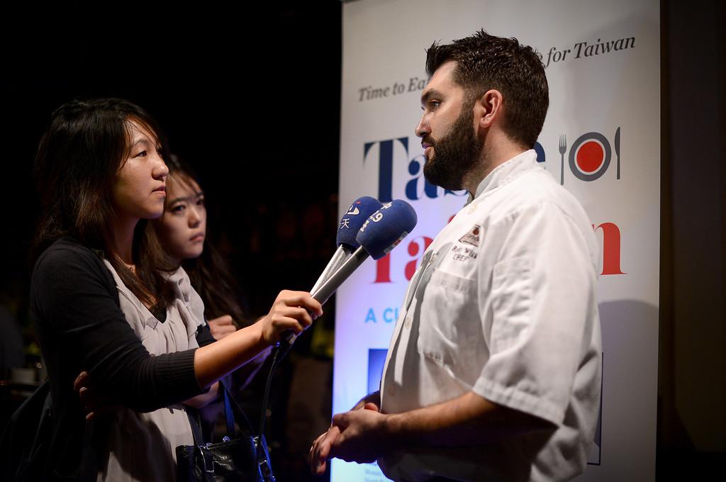 Description of . Trattoria Neapolis' chef Bryant Wigger, one of three chefs chosen in North America for the show