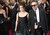 Actress Helena Bonham Carter, left, and filmmaker Tim Burton arrives at the 85th Academy Awards at the Dolby Theatre in Los Angeles, California on Sunday Feb. 24, 2013 ( Hans Gutknecht, staff photographer)