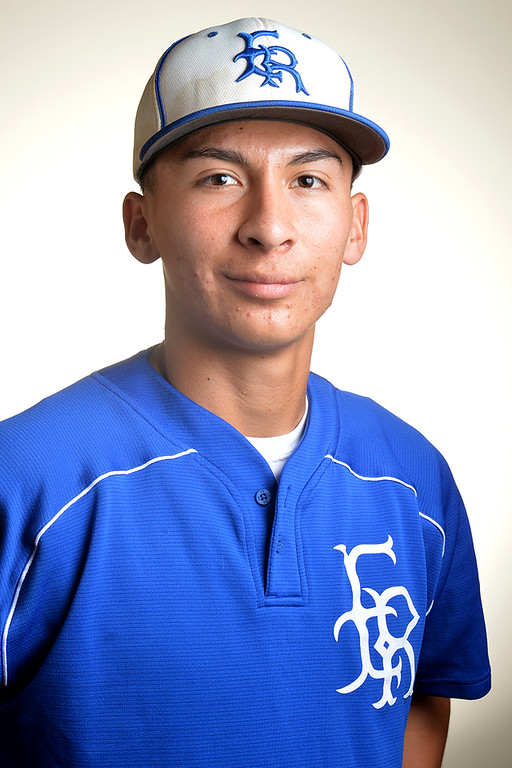 Description of . Esteban Solis from El Rancho High School was selected to the Whittier Daily News All-Area Baseball team on Tuesday June 10, 2014. (Photo by Keith Durflinger/Whittier Daily News)