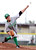 Monrovia's Joe Mata (21) pitches to Temple City in the Arcadia Elks Tournament Thursday, March 7, 2013 at Temple City High School.  (SGVN/Staff Photo by Sarah Reingewirtz)
