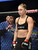 UFC women's bantamweight champion Ronda Rousey gets ready to face challenger Liz Carmouche during their UFC 157 match at the Honda Center in Anaheim, CA Saturday, February 23, 2013. Rousey beat Carmouche via first round submission. (Hans Gutknecht/Staff Photographer)