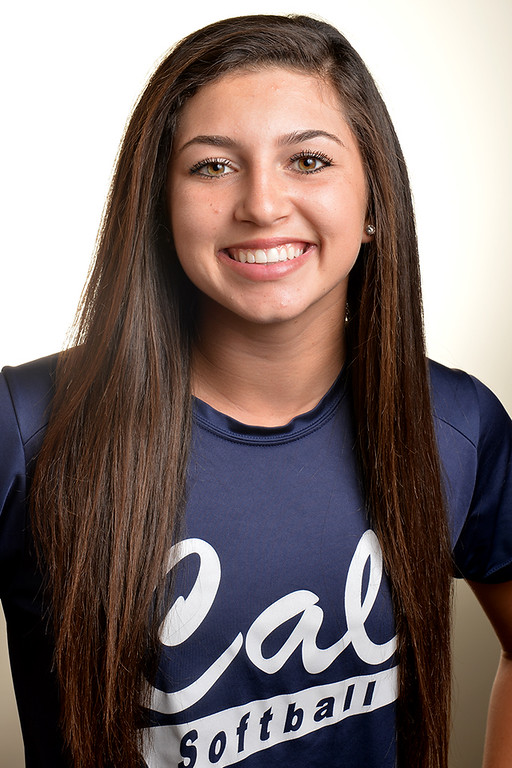 Description of . Trisha Trujillo from California High School was selected to the Whittier Daily News All-Area Softball team on Tuesday June 10, 2014. (Photo by Keith Durflinger/Whittier Daily News)