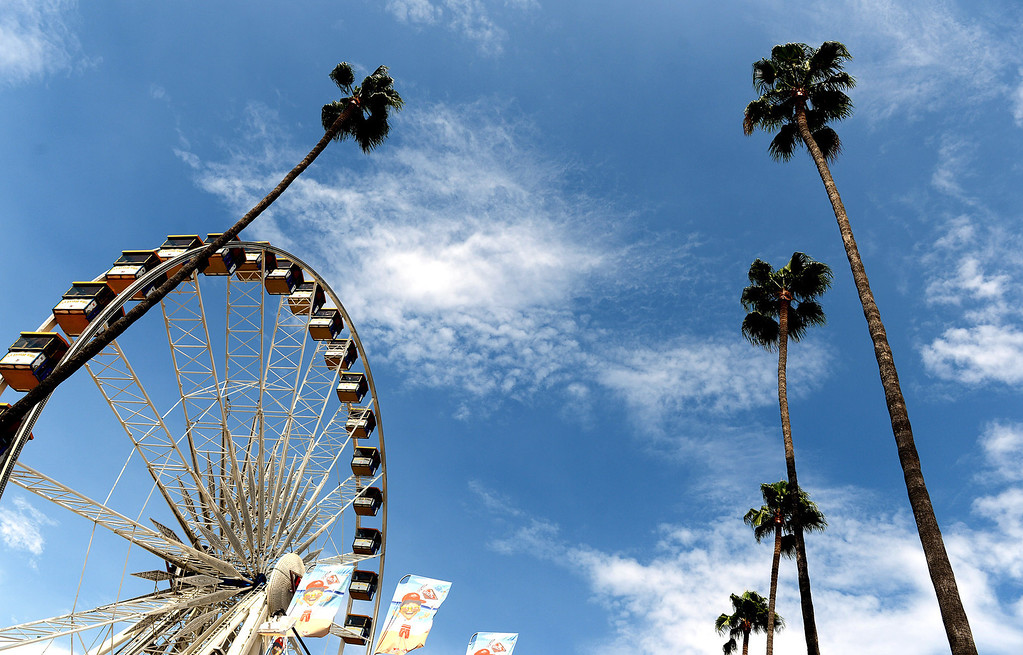 Description of . Despite temperatures nearing 100 degrees and high humidity, fair-goers came to Pomona Friday August 30, 2013, for the first day of the 91st L.A. County Fair. The fair runs through September 29. (Photo by Rick Sforza/Inland Valley Daily Bulletin)