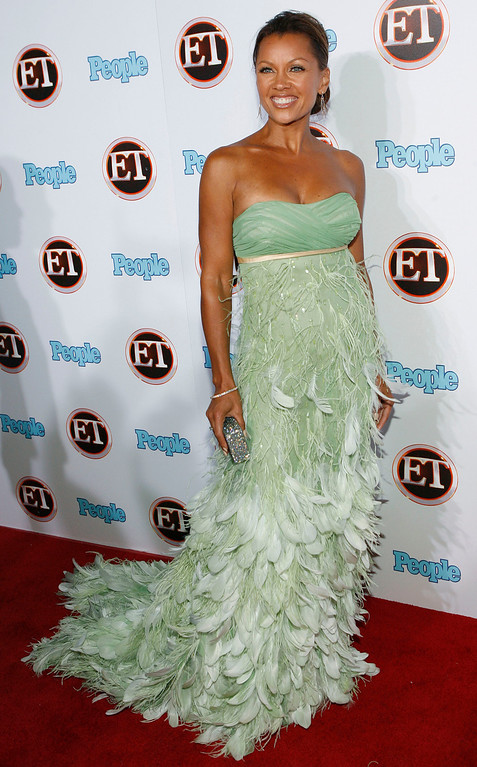 Description of . Vanessa Williams arrives at the 11th Annual Entertainment Tonight/People Magazine Emmy Party in Los Angeles on Sunday, Sept. 16, 2007. (AP Photo/Matt Sayles)