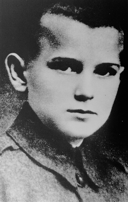 Description of . Pope John Paul II, born Karol Wojtyla, is seen in this file picture when he was 12, in Wadowice, Poland. (AP Photo)