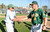 Temple City head coach Barry Bacon (9) congratulates Nogales coach John Romano after getting his 600th victory with a 2-0 win over Temple City during a prep baseball game at Nogales High School on Tuesday, March 12, 2013 in West Covina, Calif. Nogales won 2-0.