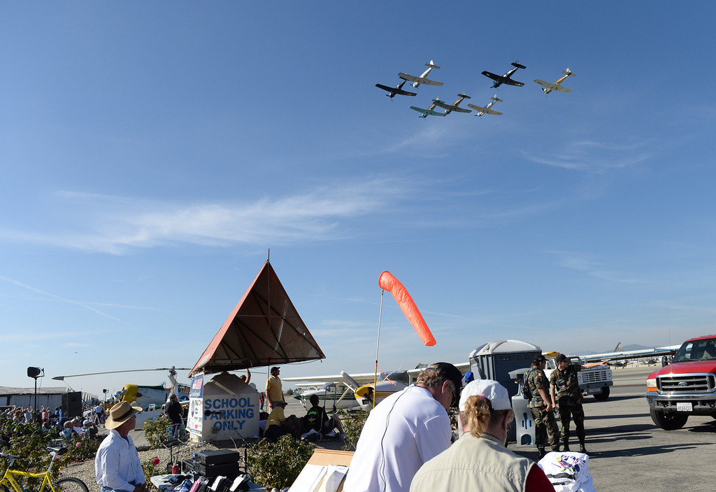 Description of . The 39th annual Cable Air Show and Car Show at Cable Airport in Uplands, Saturday Jan. 11, 2013. (John Valenzuela/Staff Photographer)