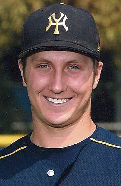 Description of . Dillion Rezendes has been named to The Sun's All Area baseball team. Rezendes plays for Yucaipa High School. Courtesy photo to The Sun.