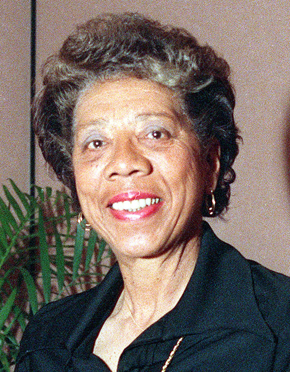 Description of . This is a 1999 file photo showing Althea Gibson. (AP Photo/Susan Ragan)