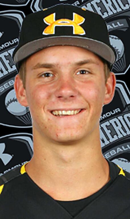 Description of . Chris Kohler has been named to The Sun's All Area baseball team. Kohler is a senior at Los Osos High School. Courtesy photo to The Sun.