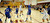 02-23-2012--(LANG Staff Photo by Sean Hiller)- Narbonne beat El Camino Real 47-39 in Saturday's L.A. City Section Division I semifinal girls basketball game. Narbonne's Jade Everage (20) passes over El Camino's Shaina Van Stryk (33) to Kiana Angel (4).