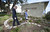 LONG BEACH, CALIF. USA -- Sixth grader Susan Mirzazadeh gives a tour of the school's Labyrinth to California Superintendent of Public Instruction Tom Torlakson at Hughes Middle School on February 15, 2013, in Long Beach, Calif. Torlakson was at the school to announce  the 2013 nominees  four schools and one school district  to compete in the second year of the U.S. Department of Educations Green Ribbon School.