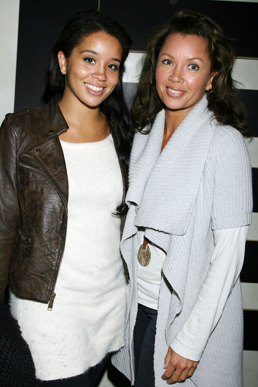 Description of . In this photo provided by StarPix, Vanessa Williams, left, and her daughter Jillian attend the after party for the New York premiere of HBO films Temple Grandin, Tuesday, Jan. 26, 2010. (AP Photo/Dave Allocca, StarPix)