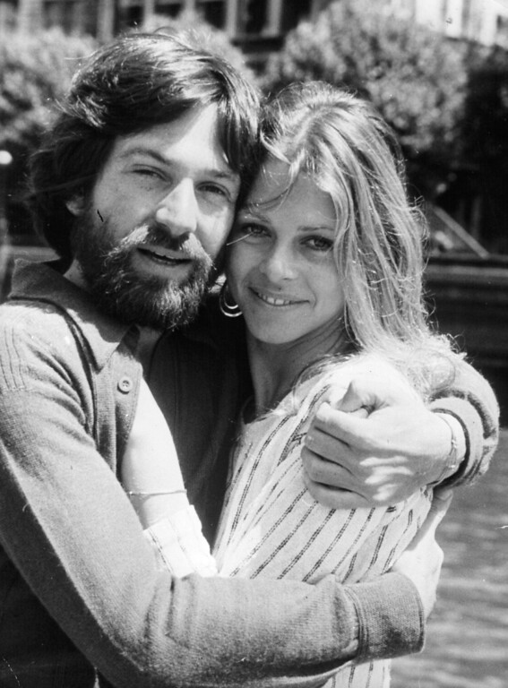 Description of . Actress Lindsay Wagner with her second husband and fellow Michael Brandon.  Wagner is teaching Acting and Directing for Television and Film and Motion Picture Production as an adjunct faculty member at San Bernardino Valley College. (Getty Images)