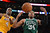 Lakers Antawn Jamison and Celtics' Paul Pierce go for a rebound during second half action at Staples Wednesday. Lakers defeated the Celtics 113-99.  Photo by David Crane/Staff Photographer
