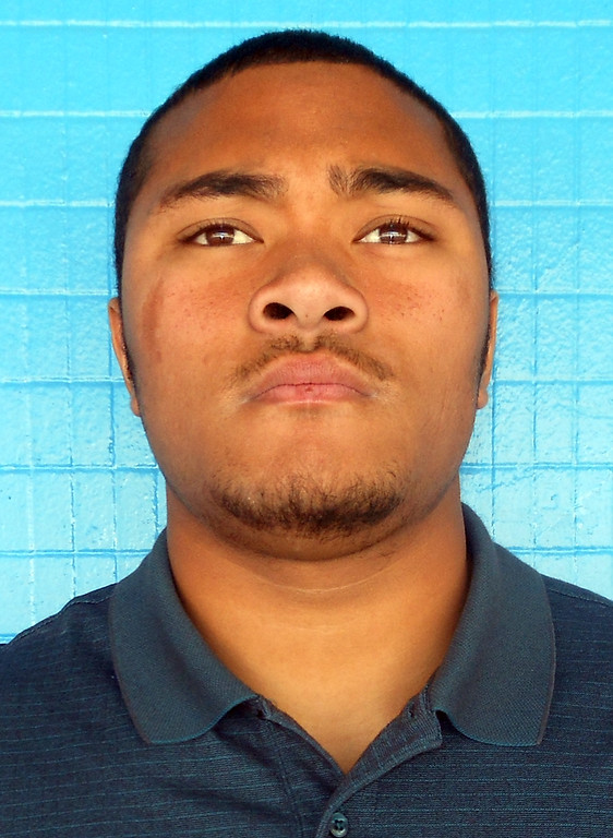 Description of . Sione Tovi, from San Gorgonio High School, has been named to The Sun's All-Area track team. Courtesy photo to The Sun.