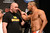 UFC fighter Dan Henderson and UFC president Dana White during weigh-ins for UFC 157 Rousey vs Carmouche at the Honda Center in Anaheim Friday, February  22, 2013.  (Hans Gutknecht/Staff Photographer)