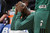 Celtics' Kevin Garnett reacts to the loss to the Lakers during second half action at Staples Wednesday. Lakers defeated the Celtics 113-99.  Photo by David Crane/Staff Photographer