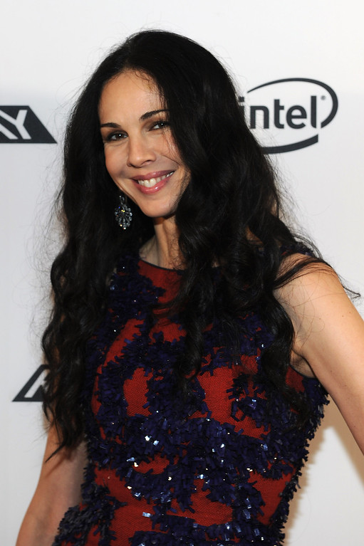 Description of . L'Wren Scott attends HP Project Runway Designer Reunion at Empire Hotel on September 10, 2011 in New York City.  (Photo by Larry Busacca/Getty Images for HP)