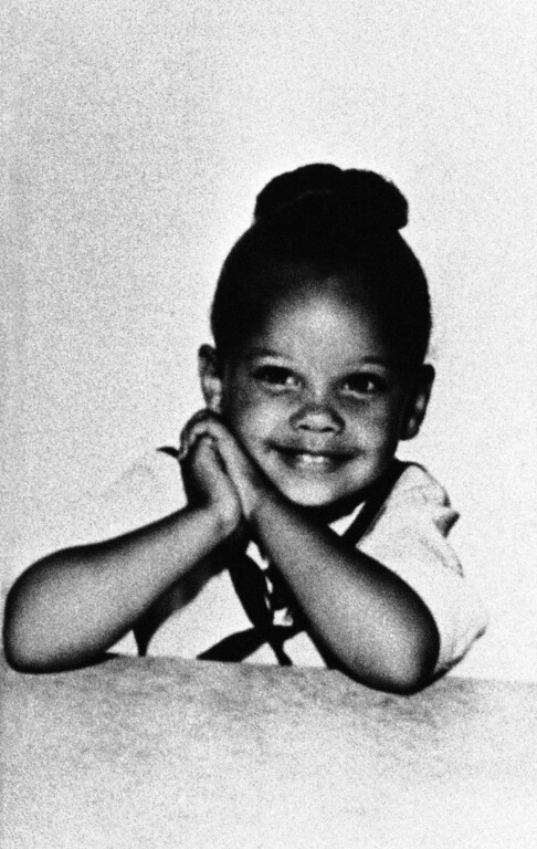 Description of . Singer, actress and former Miss America  Vanessa Williams seen in an undated photo of her as a child. (AP Photo)