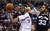 The Clippers' Chris Paul #3 shoots as the Spurs' Boris Diaw #33 defends during their game at the Staples Center in Los Angeles Friday, February  21, 2013. The Spurs beat the Clippers 116-90. (Hans Gutknecht/Staff Photographer)