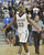 LAKEWOOD, CALIF. USA -- Mayfair's Eze Egeonuigwe (33) during the final seconds of their victory over La Mirada in Lakewood, Calif., on February 8, 2013. Mayfair defeated La Mirada 60 to 59. Photo by Jeff Gritchen / Los Angeles Newspaper Group