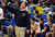 Bishop Amat head coach Richard Wiard in the second half of a CIF State Southern California Regional semifinal basketball game against Long Beach Poly at Bishop Amat High School on Tuesday, March 12, 2013 in La Puente, Calif. Long Beach Poly won 52-34. 