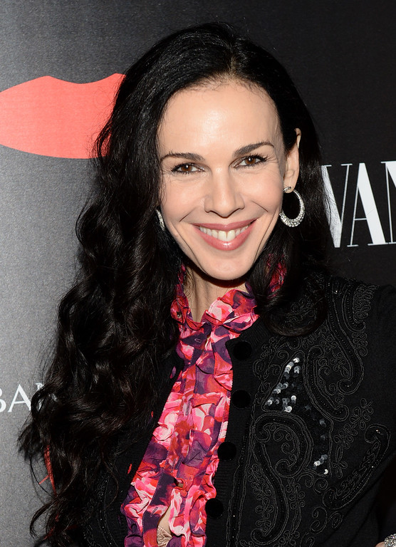 Description of . Fashion designer L'Wren Scott attends the launch celebration of the Banana Republic L'Wren Scott Collection hosted by Banana Republic, L'Wren Scott and Krista Smith at Chateau Marmont on November 19, 2013 in Los Angeles, California.  (Photo by Michael Kovac/Getty Images for Banana Republic)