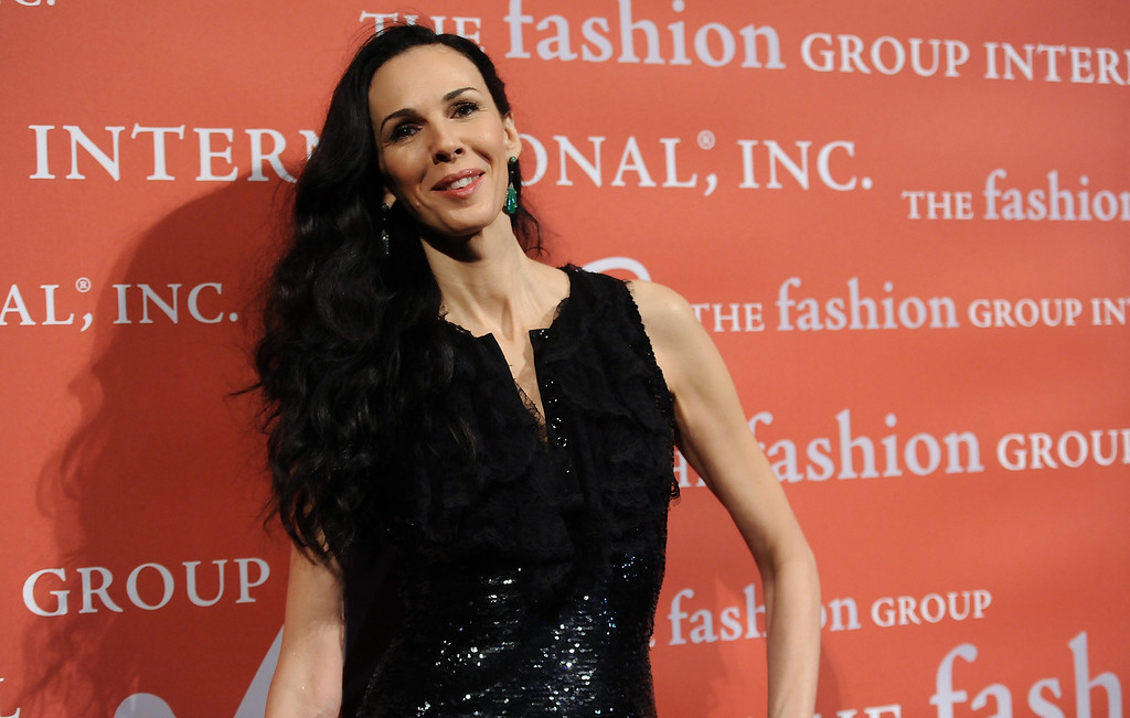 Description of . Lord and Taylor Fashion Oracle Award honoree, designer L'Wren Scott attends the 29th Annual