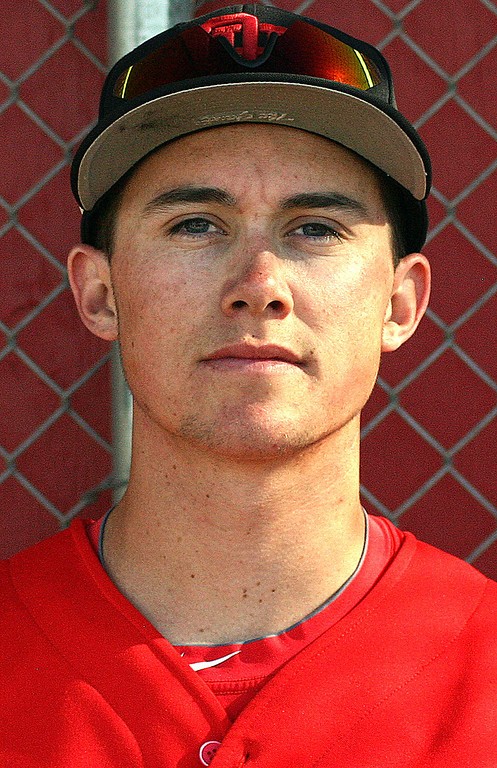 Description of . Logan Griffin has been named to The Sun's All Area baseball team. Griffin plays for Oak Hills High School. Courtesy photo to The Sun.