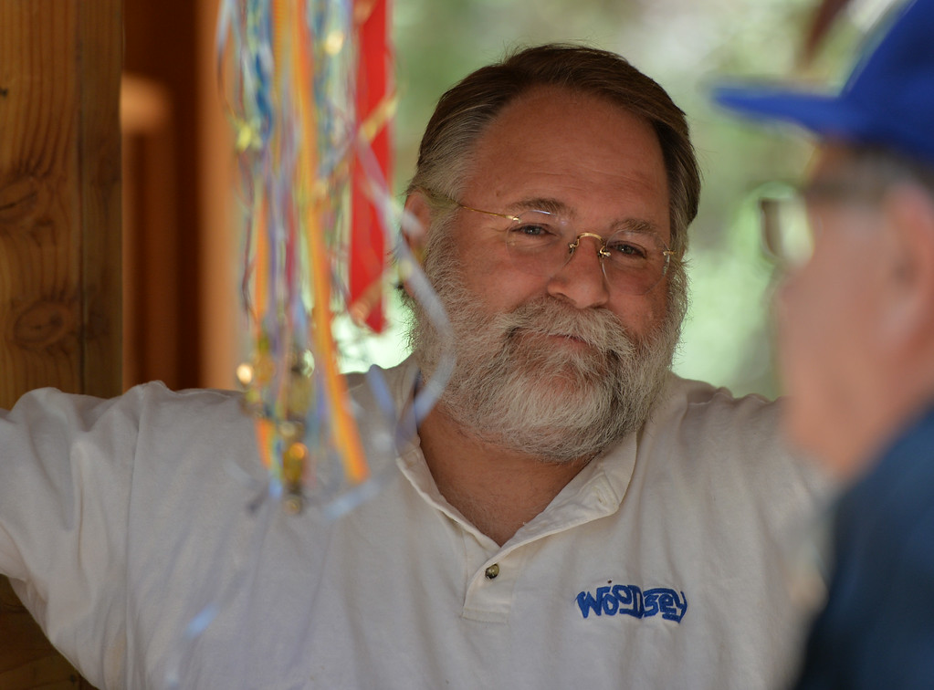 . Wally Wirick has over 30 years experience as a professional with the YMCA, the Boys and Girls Club, and presently serves as the Camp Executive Director of the official charity of the students of UCLA�a resident summer camp serving children of need called UniCamp. The kids are enjoying the mountains for a week at Camp River Glen, a much different environment than their usual inner city home lives across Southern California. August 6, 2014. (Photo by Brittany Murray / Daily Breeze)