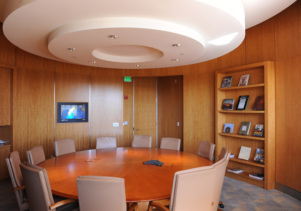 . Public use meeting room.The Cerritos Library is is more like a public information center and gathering place. Lots of books, but also art, music and computers.   (Fri Nov. 8, 2013 Photo by Brad Graverson/The Daily Breeze)